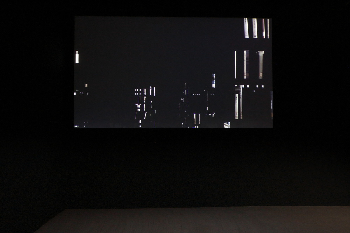 "Installation view of ""light difference -face Ⅲ-"""